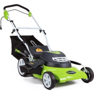 Greenworks 12 Amp 3-in-1 25022 Electric Cord - Best Lawn Mower For Small Yard