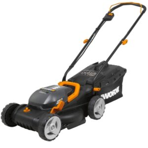Worx 40V Power Share WG779 Lawn Mover with Intellicut Batteries & Mulching